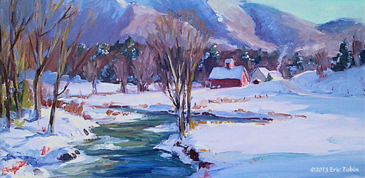 Visions of Vermont Gallery Eric Tobin_Smugglers Notch